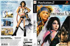 Artwork - Back, Front | Final Fantasy X-2 Playstation 2