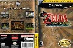 Artwork - Back, Front (Players Choice)   Zelda Wind Waker Gamecube