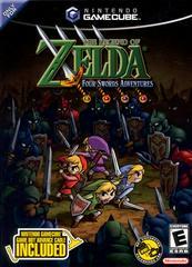 Case- Front | Zelda Four Swords Adventures [Cable Bundle] Gamecube