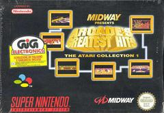 Arcade's Greatest Hits Atari Collection 1 PAL Super Nintendo Prices