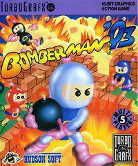Original BOMBER MAN Manual for Turbo Grafx 16