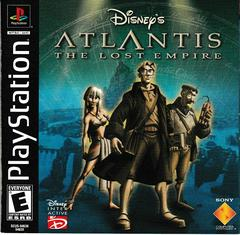 Manual - Front | Atlantis The Lost Empire Playstation