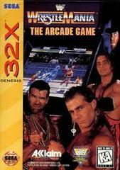 WWF Wrestlemania Arcade Game - Front | WWF Wrestlemania: Arcade Game Sega 32X