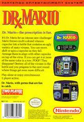 Dr. Mario - Back | Dr. Mario NES