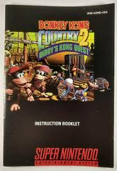 Manual | Donkey Kong Country 2 Super Nintendo