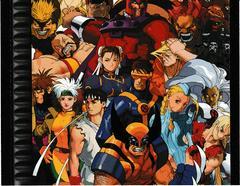Back Cover - Inside   X-men vs Street Fighter Playstation