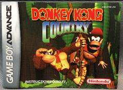 Instruction Manual | Donkey Kong Country GameBoy Advance