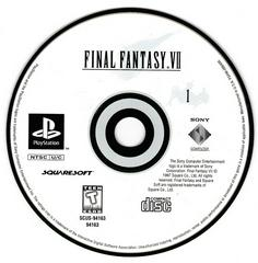 Game Disc 1   Final Fantasy VII Playstation