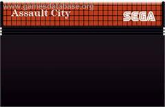 Cartridge  | Assault City PAL Sega Master System