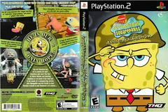 Artwork - Back, Front | SpongeBob SquarePants Battle for Bikini Bottom Playstation 2