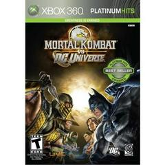 Mortal Kombat Vs. DC Universe [Platinum Hits] Xbox 360 Prices