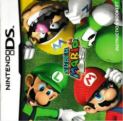 Manual - Front | Super Mario 64 DS Nintendo DS