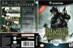 Artwork - Back, Front | Medal of Honor Frontline Gamecube