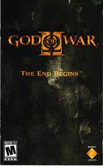 Manual - Front | God of War 2 [Greatest Hits] Playstation 2