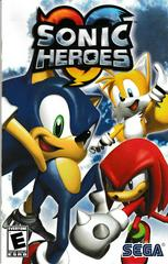Manual - Front | Sonic Heroes Playstation 2