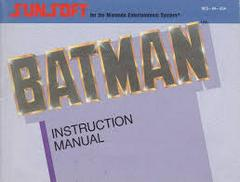 Batman - Instructions | Batman The Video Game NES