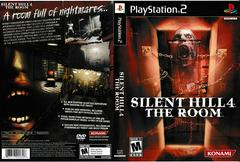 Artwork - Back, Front | Silent Hill 4: The Room Playstation 2