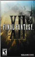 Manual - Front | Final Fantasy XII Playstation 2