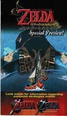 Wind Walker Preview Booklet   Zelda Ocarina of Time Master Quest Gamecube