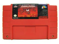 Red Cartridge (First Print) | Spiderman Maximum Carnage Super Nintendo