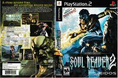 Artwork - Back, Front | Legacy of Kain Soul Reaver 2 Playstation 2