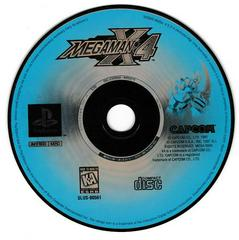 Game Disc | Mega Man X4 Playstation