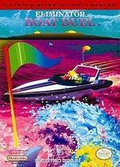 Eliminator Boat Duel - Front   Eliminator Boat Duel NES