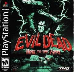 Manual - Front | Evil Dead Hail to the King Playstation