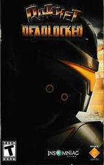 Manual - Front | Ratchet Deadlocked Playstation 2
