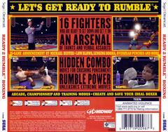Back Of Case | Ready 2 Rumble Boxing Sega Dreamcast