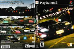 Artwork - Back, Front | Corvette Playstation 2