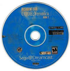 Game Disc 2 | Resident Evil CODE Veronica Sega Dreamcast