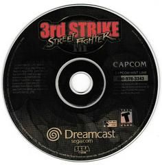 Game Disc | Street Fighter III 3rd Strike: Fight for the Future Sega Dreamcast
