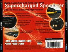 Back Of Case   Sega GT Sega Dreamcast