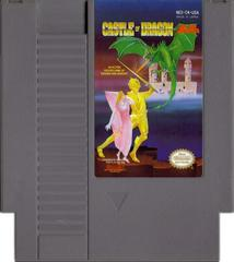 Cartridge   Castle of Dragon NES