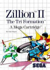 Zillion II - Front   Zillion II Sega Master System