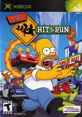The Simpsons Hit and Run Cover Art
