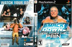 Artwork - Back, Front | WWE Smackdown Here Comes the Pain Playstation 2