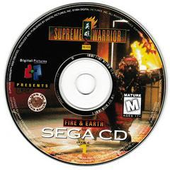 Game Disc 1 | Supreme Warrior Sega CD