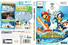 Artwork - Back, Front | Mario and Sonic Olympic Winter Games Wii