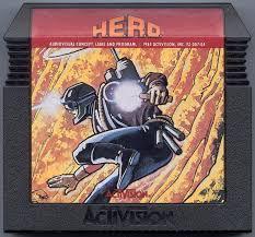 H.E.R.O. - Cartridge   H.E.R.O. Atari 5200