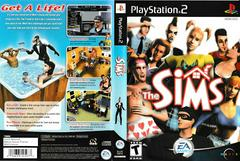 Artwork - Back, Front   The Sims Playstation 2