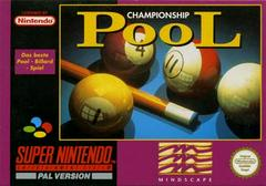 Championship Pool PAL Super Nintendo Prices