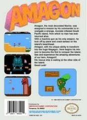 Amagon - Back | Amagon NES
