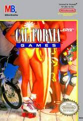 California Games - Front | California Games NES