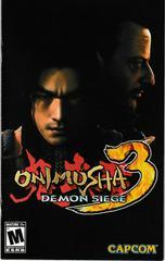 Manual - Front | Onimusha 3 Demon Siege Playstation 2