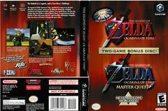 Artwork - Back, Front | Zelda Ocarina of Time Master Quest Gamecube