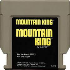 Mountain King - Cartridge | Mountain King Atari 5200
