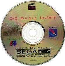 C&C Music Factory Make My Video - Disc | Power Factory: Featuring C+C Music Factory Sega CD