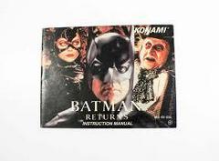 Batman Returns - Instructions   Batman Returns NES